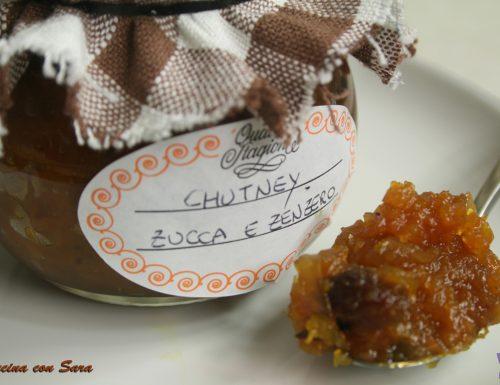 Chutney speziato con zucca e zenzero
