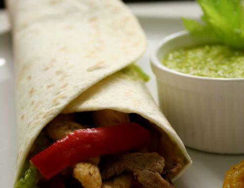 Fajitas di pollo e manzo – ricetta messicana