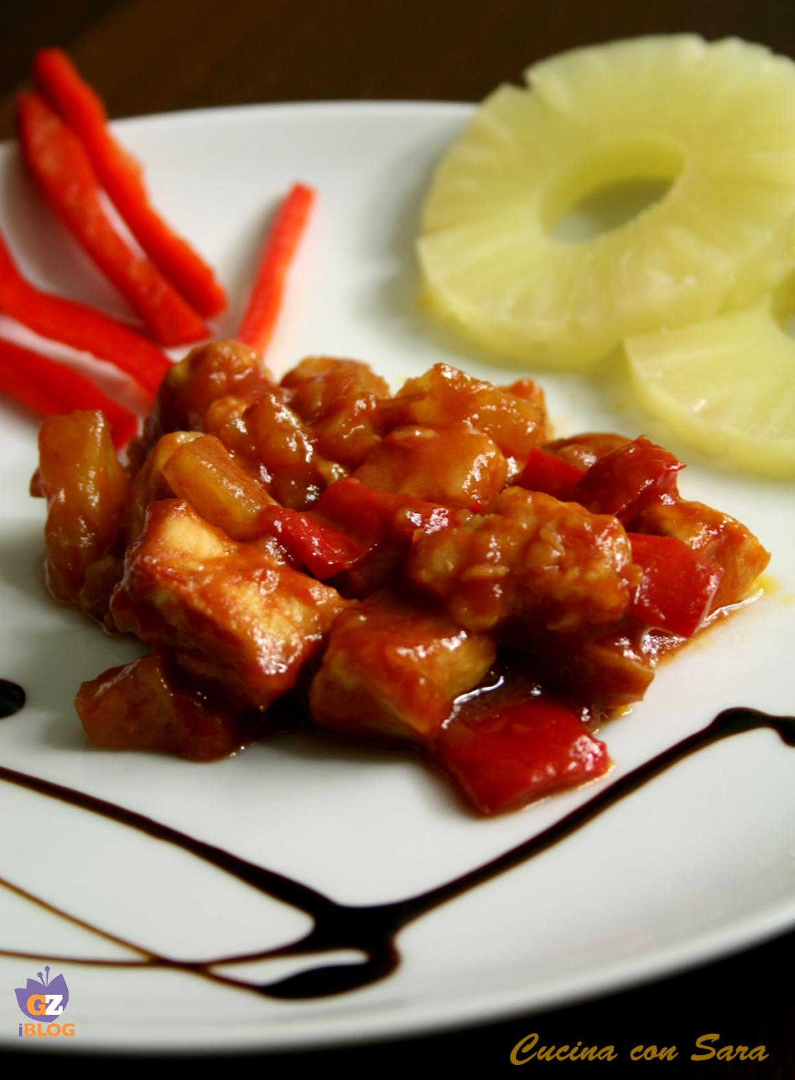pollo in agrodolce - ricetta cinese