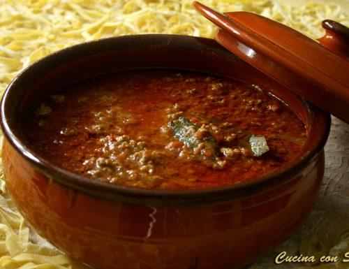 Ragu' – ricetta della nonna
