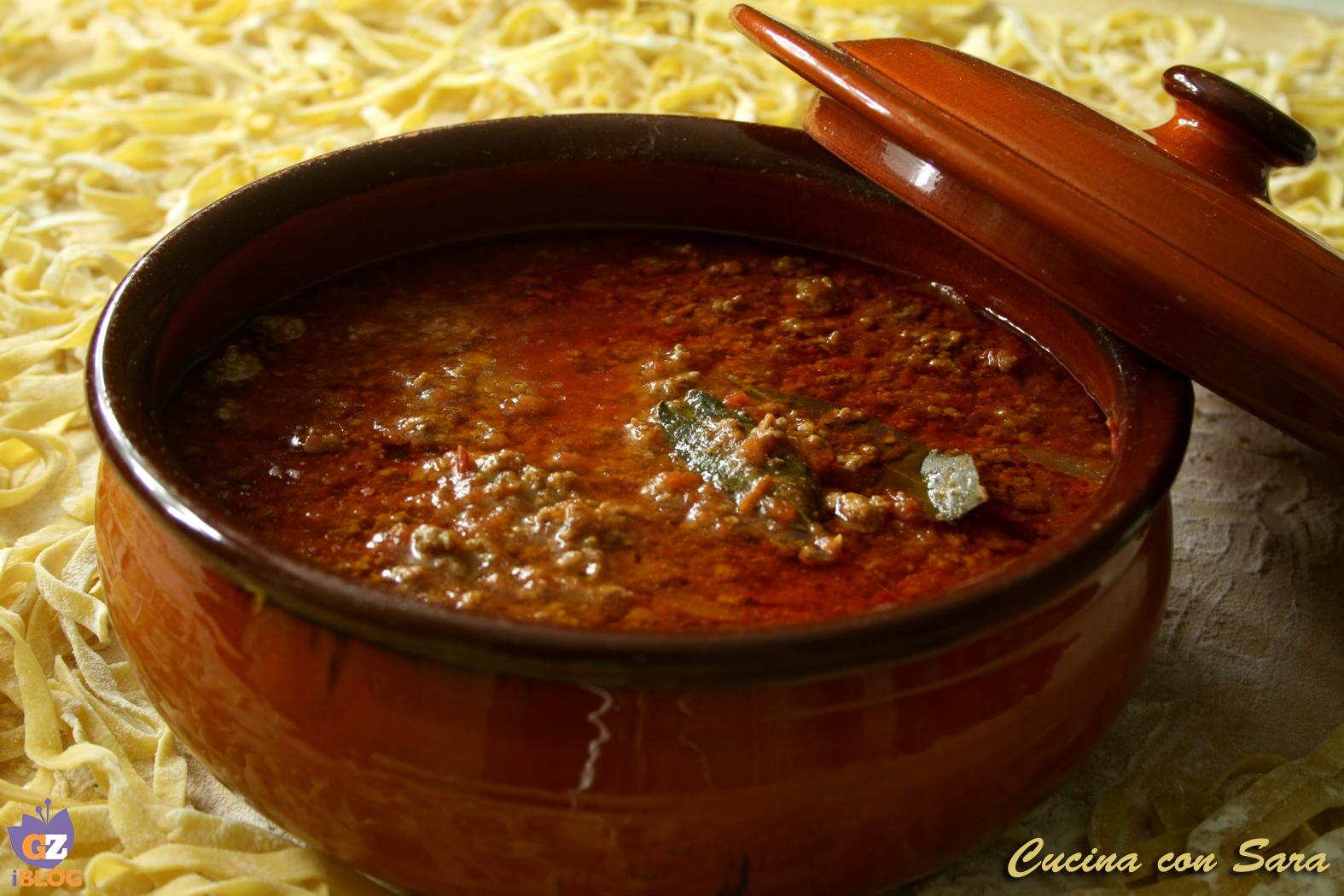 Ragu' -ricetta della nonna