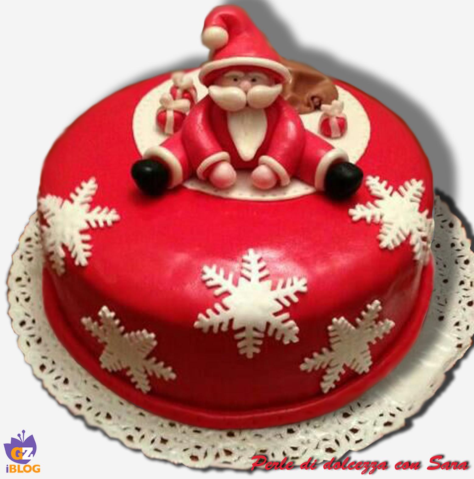 Architecture And Design Cake : Cake design: torta babbo natale /CUCINA CON SARA