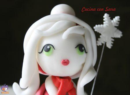 La regina delle nevi, scultura natalizia