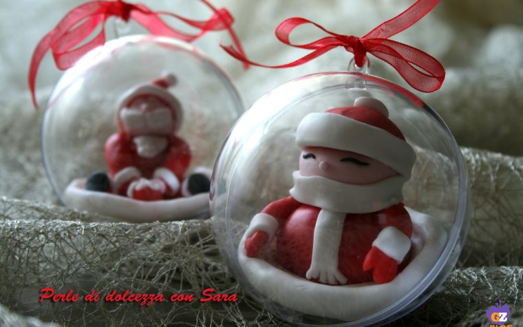 Cake design: palle di Natale