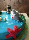 Cake design: torta subacquea