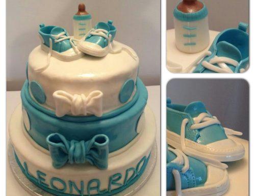 Cake design: torta per battesimo