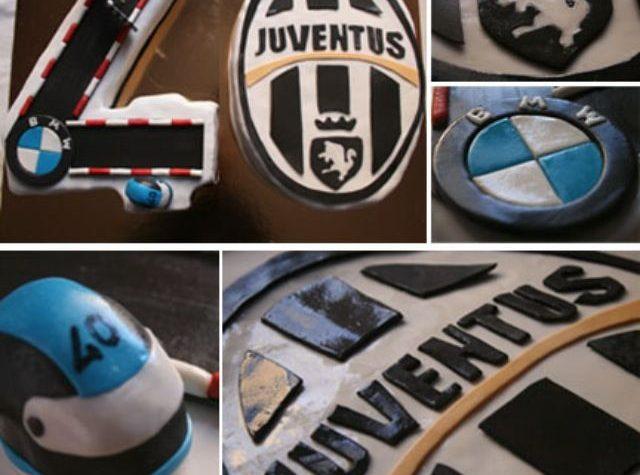 Cake design: motociclista juventino