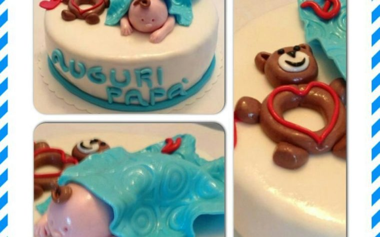 Cake design: torta per un neo papa'
