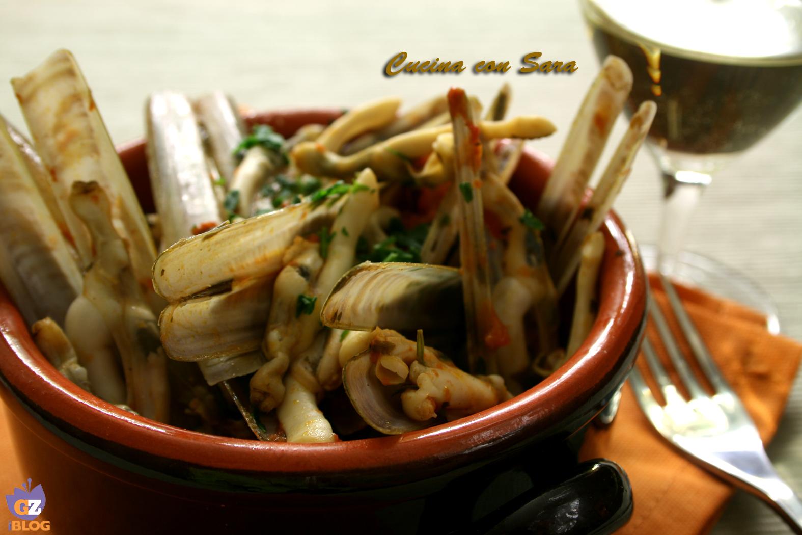 Cannolicchi Di Mare In Guazzetto Cucina Con Sara
