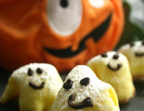 Biscotti fantasmini per Halloween