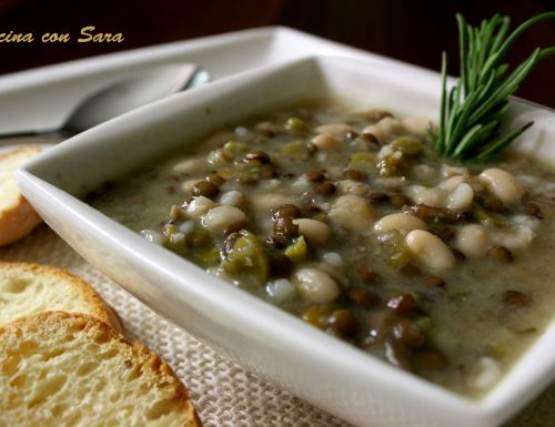 Zuppa contadina – saporita, salutare e nutriente