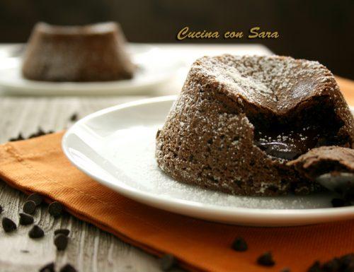 Flan al cioccolato- CUORE MORBIDO, CREMOSO ED IRRESISTIBILE