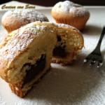 Muffins con cuore di nutella