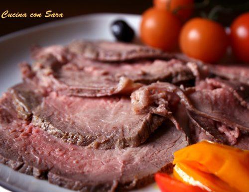 Roast beef all'inglese – ricetta genuina