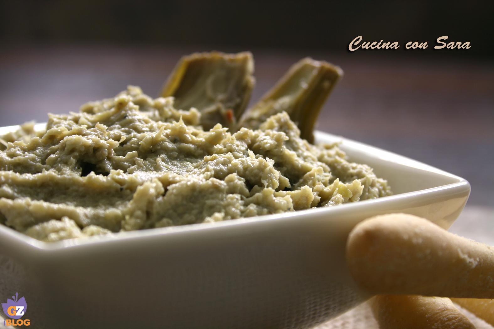 Crema di carciofi cucina con sara - Cucina con sara ...