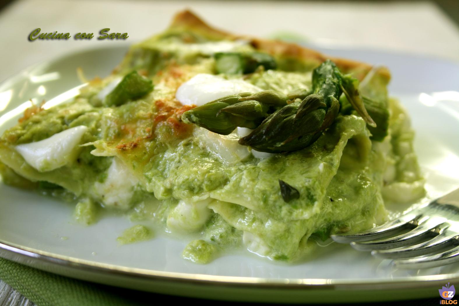Lasagne asparagi