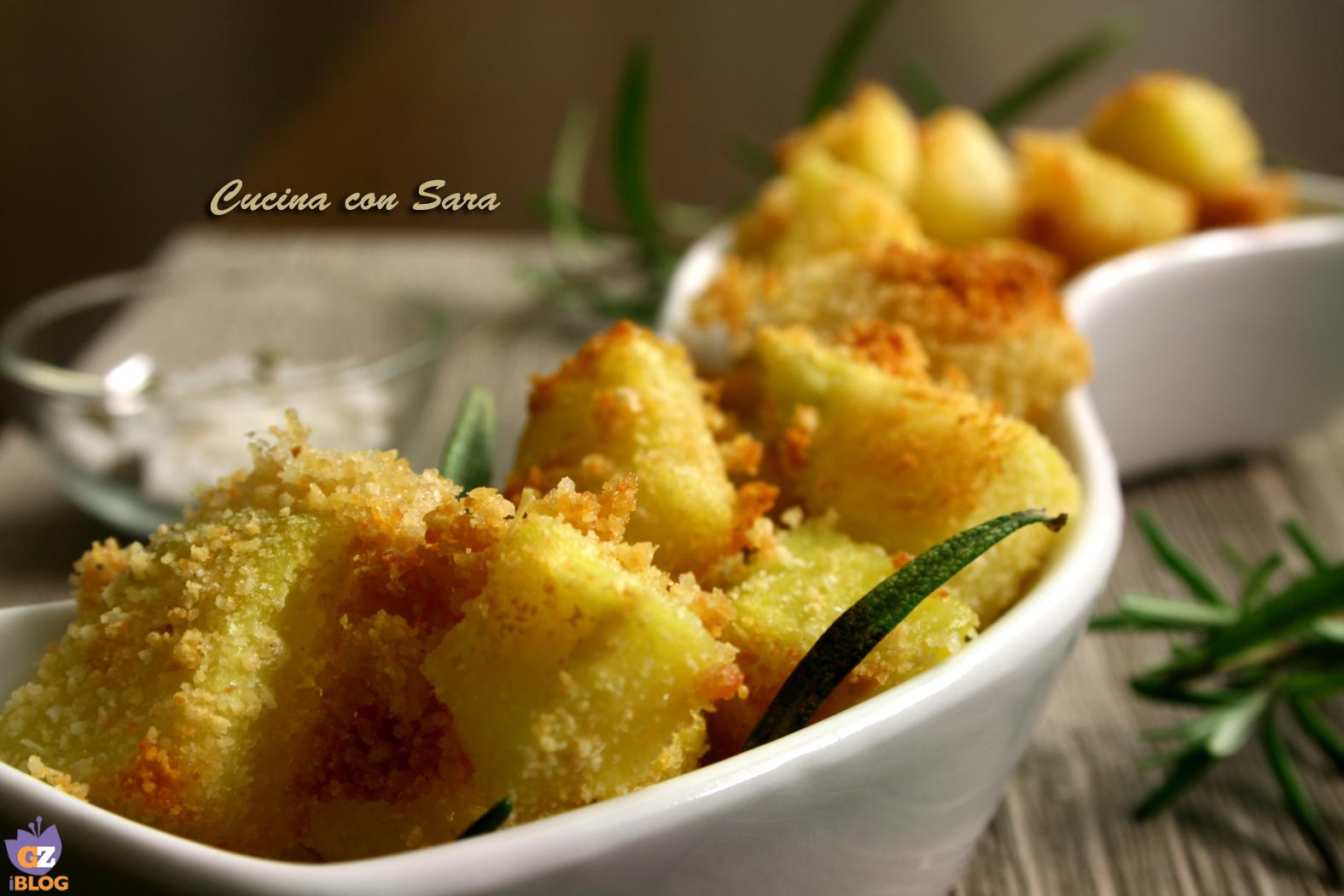 patate sabbiose ricetta /CUCINA CON SARA