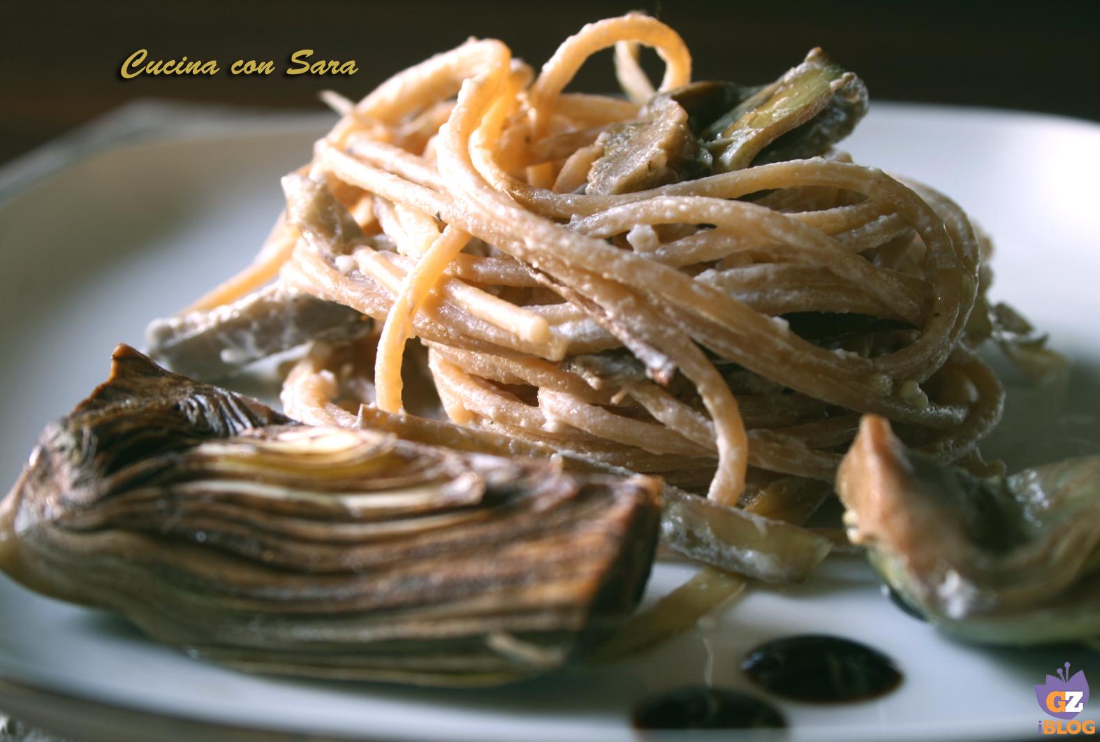 Pasta con carciofi