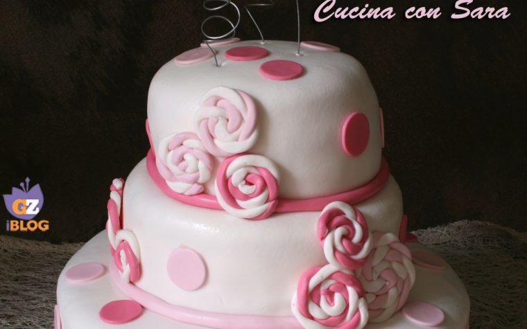 Cake design: torta con girandole