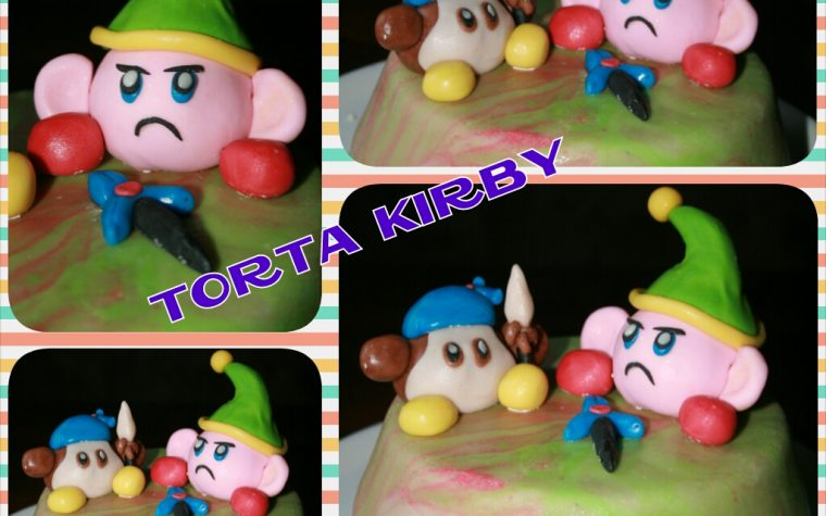 Cake design: torta Kirby