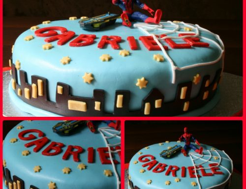 Cake design: torta spiderman