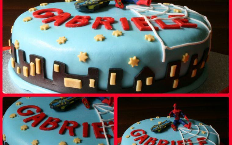 Cake design: torta spiderman