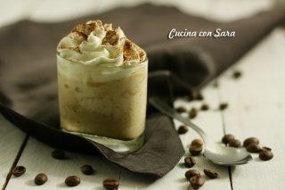 Crema fredda al caffe' e panna , cucina con sara