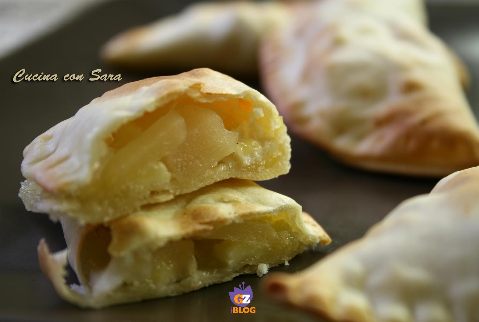 Panzerotti al forno con brie e pere cucina con sara - Cucina con sara ...