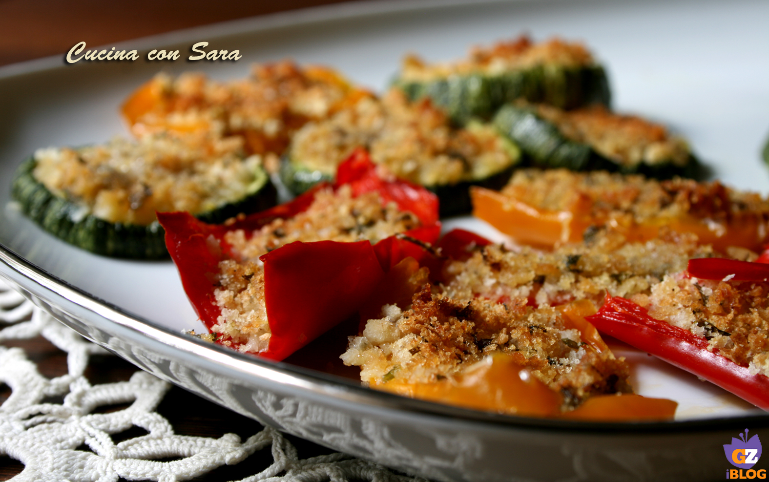 Verdure gratinate al forno cucina con sara - Cucina con sara ...