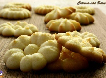 Ricetta pasta frolla montata - per sparabiscotti