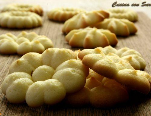 Ricetta pasta frolla montata – per sparabiscotti