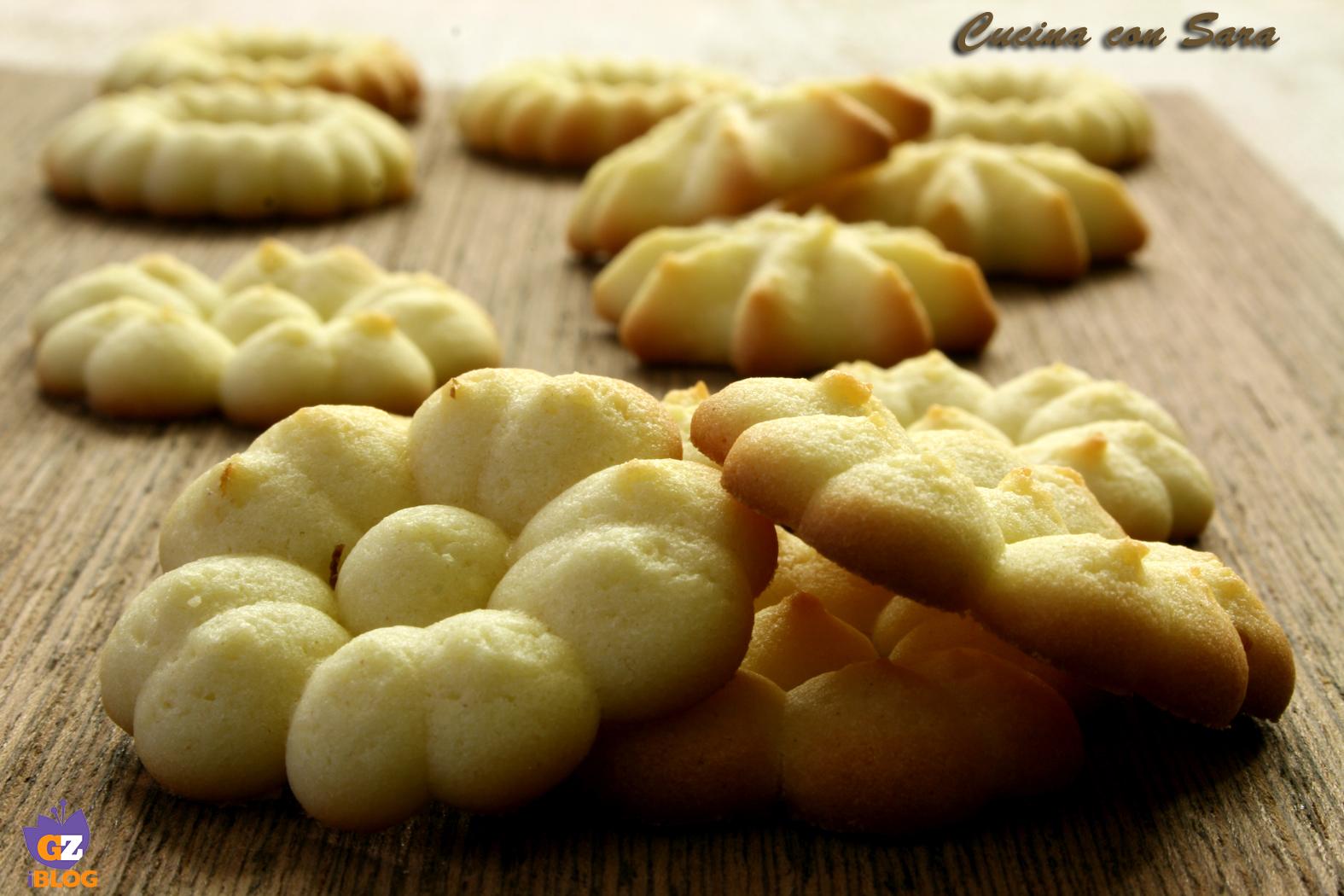 Ricetta di pasta frolla per sparabiscotti