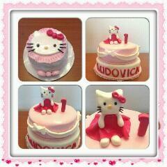 Torta hello kitty, torta di compleanno per bambine