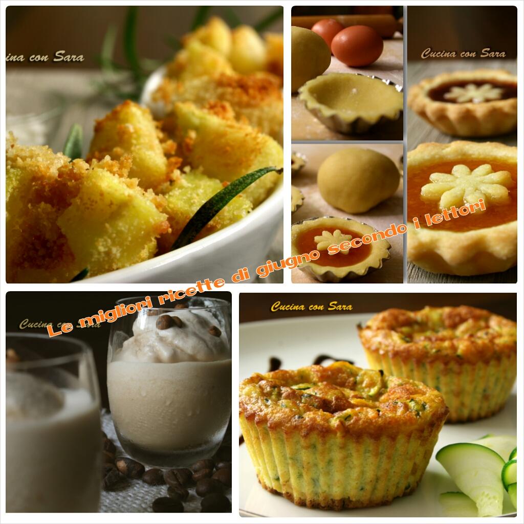 Le migliori ricette di giugno cucina con sara for Migliori siti di ricette di cucina