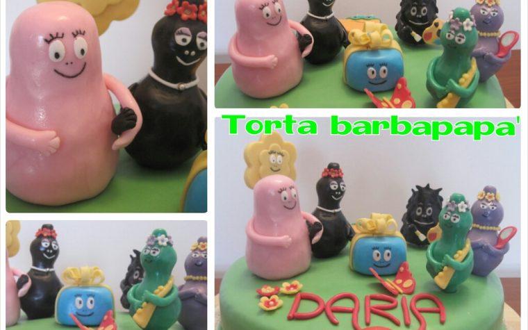 Cake design: torta barbapapa