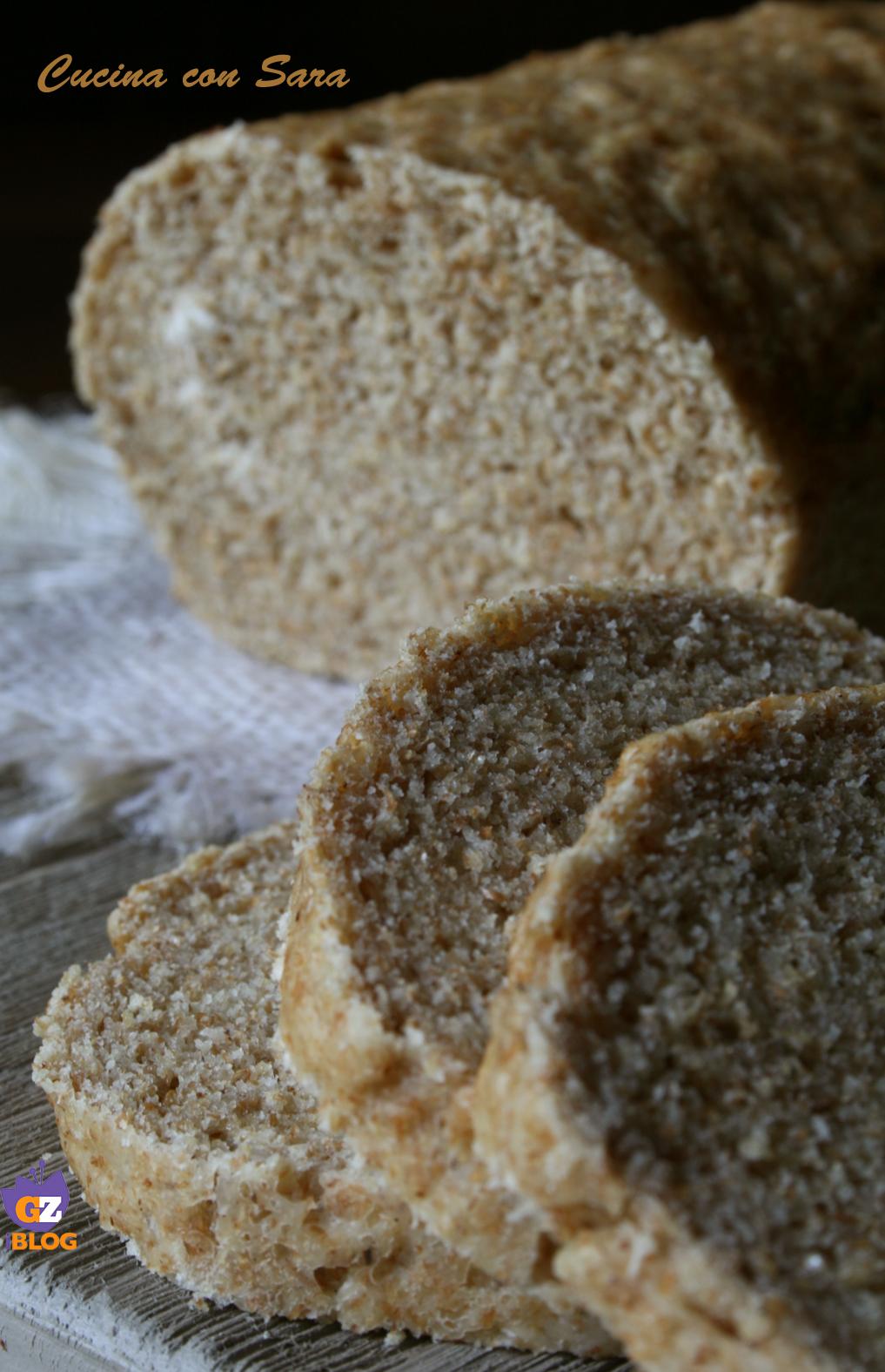 Pan bauletto integrale cucina con sara - Cucina con sara ...