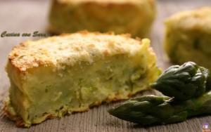 Medaglioni di patate e asparagi