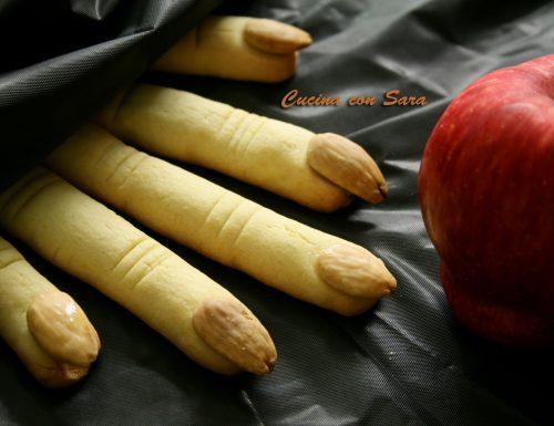 Biscotti dita della strega