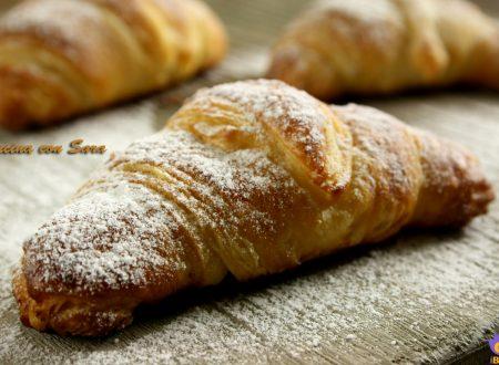 Ricetta croissant mignon, ricetta veloce