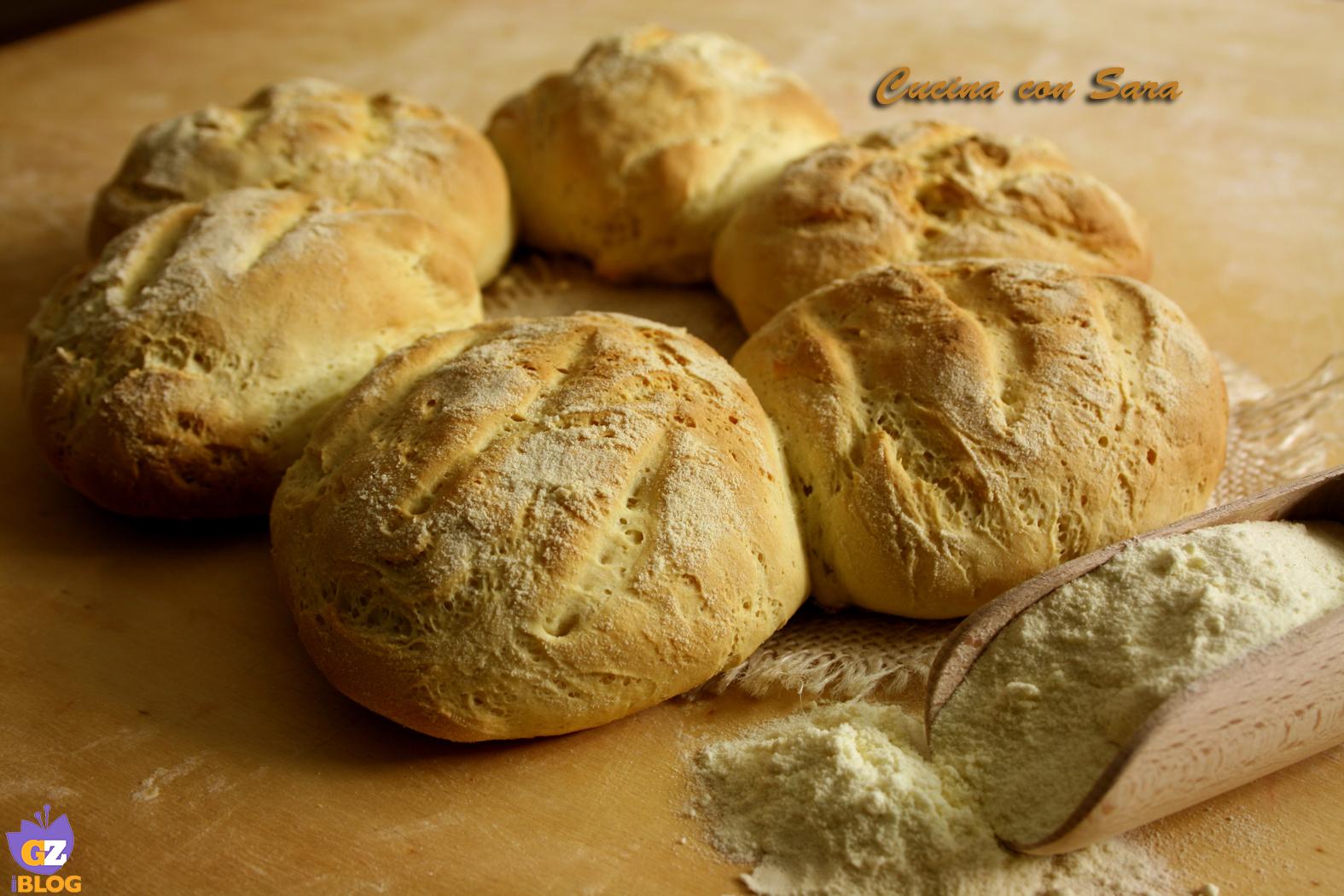 pane di grano duro a fiore
