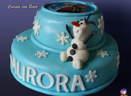 Cake design: torta Frozen