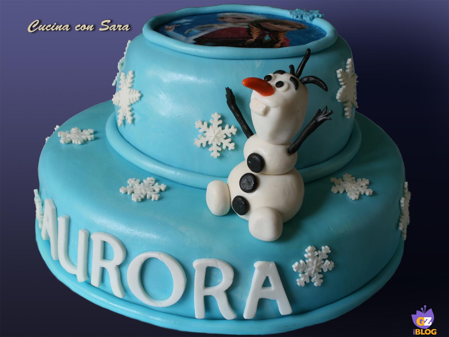 Torte Cake Design Per Bambini Immagini : Torta primo compleanno per Rebecca /CUCINA CON SARA
