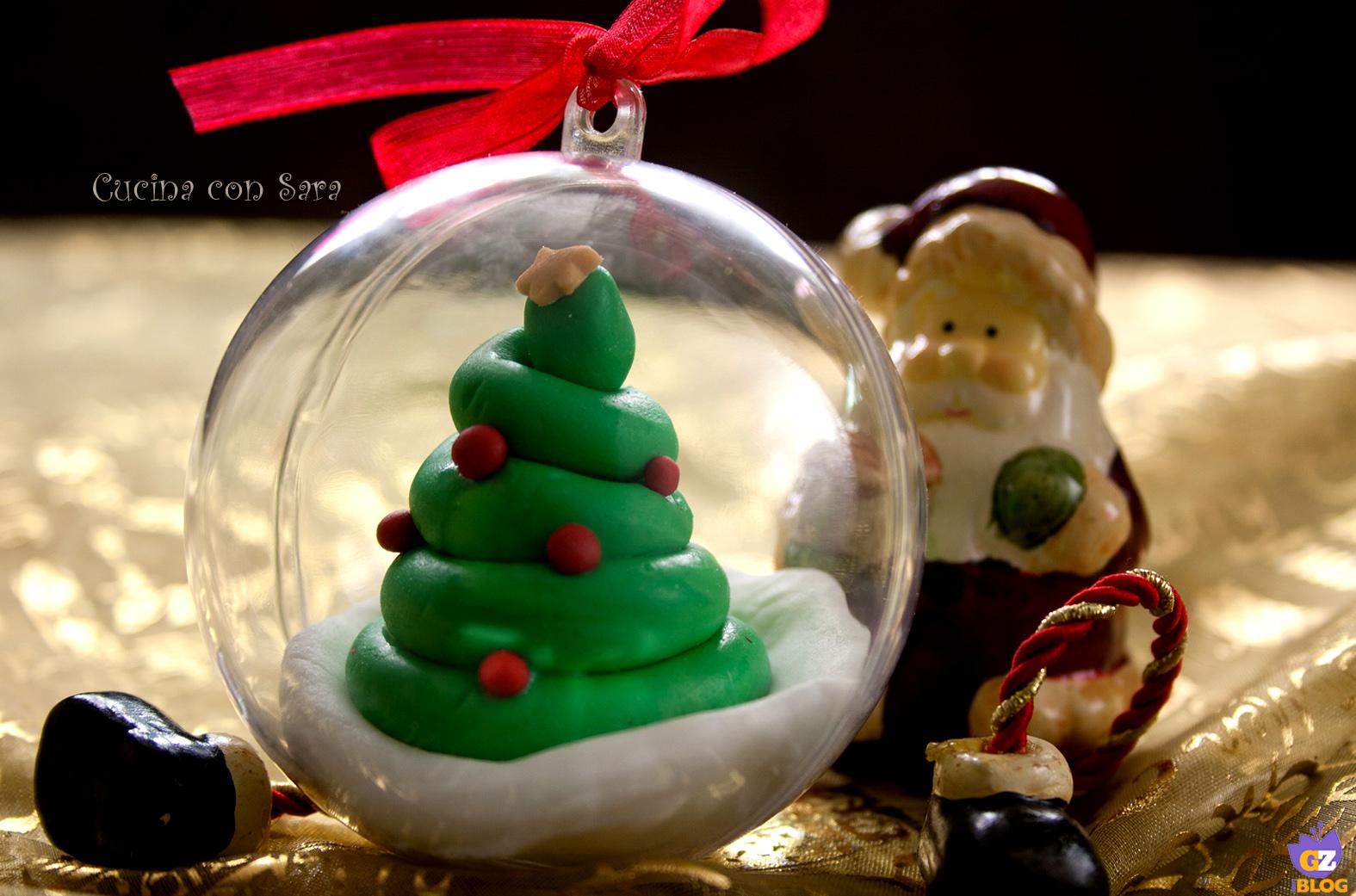 Palle di natale decorate con tutorial cucina con sara for Sedie decorate per natale