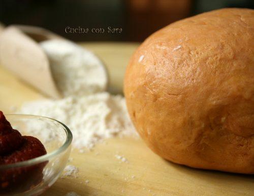 Ricetta pasta brise' al pomodoro