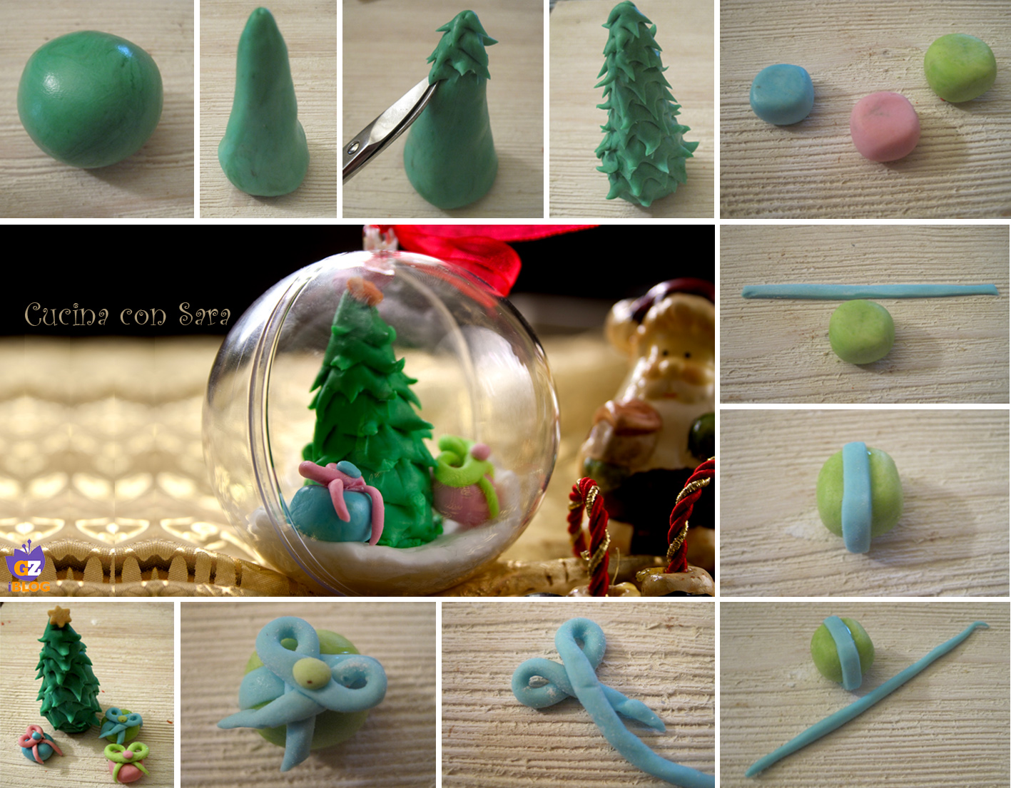 Palle di natale decorate con tutorial cucina con sara for Antifurto con le palle