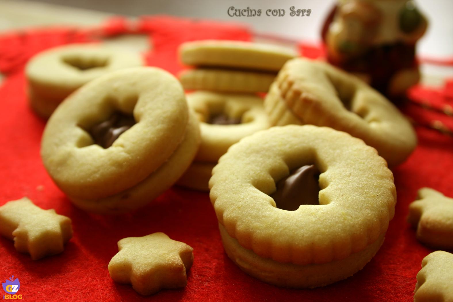 biscotti di frolla per natale cucina con sara