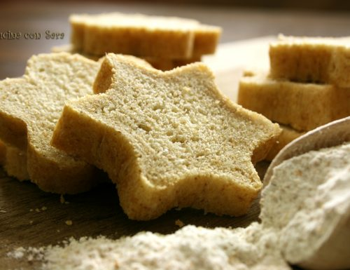 Pane integrale a forma di stella