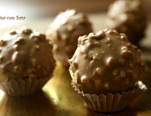 Praline cioccolato e nocciole