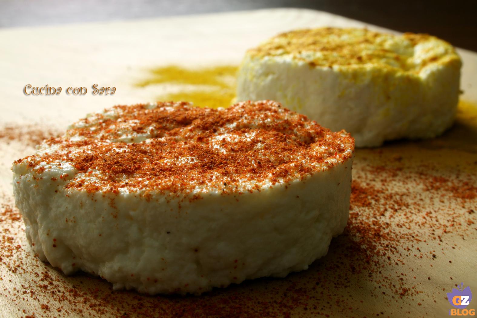 tomini aromatizzati, cucina con sara
