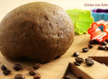 Ricetta pasta frolla al caffe'